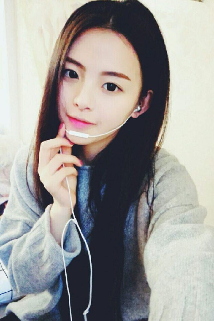 杨超越早期自拍照【2017-1-19】
