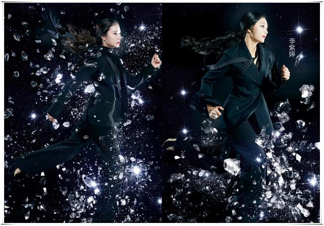 火箭少女最新黑西装造型,杨超越被赞最美,吴宣仪造型太差引争议