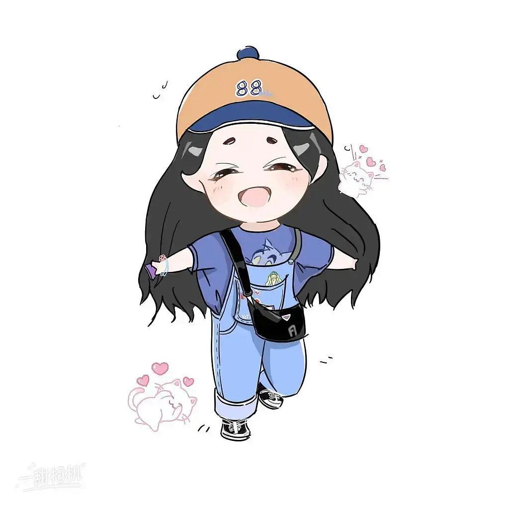 粉丝制作的杨超越卡通形象【40p】
