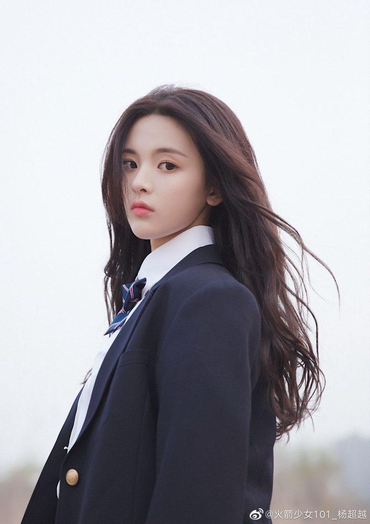 杨超越学院风小西装美图【6P】