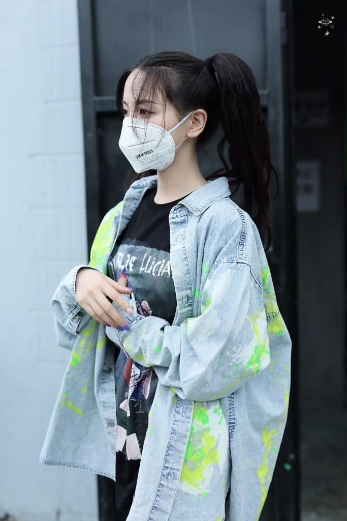 杨超越立夏收工下班美图【6P】